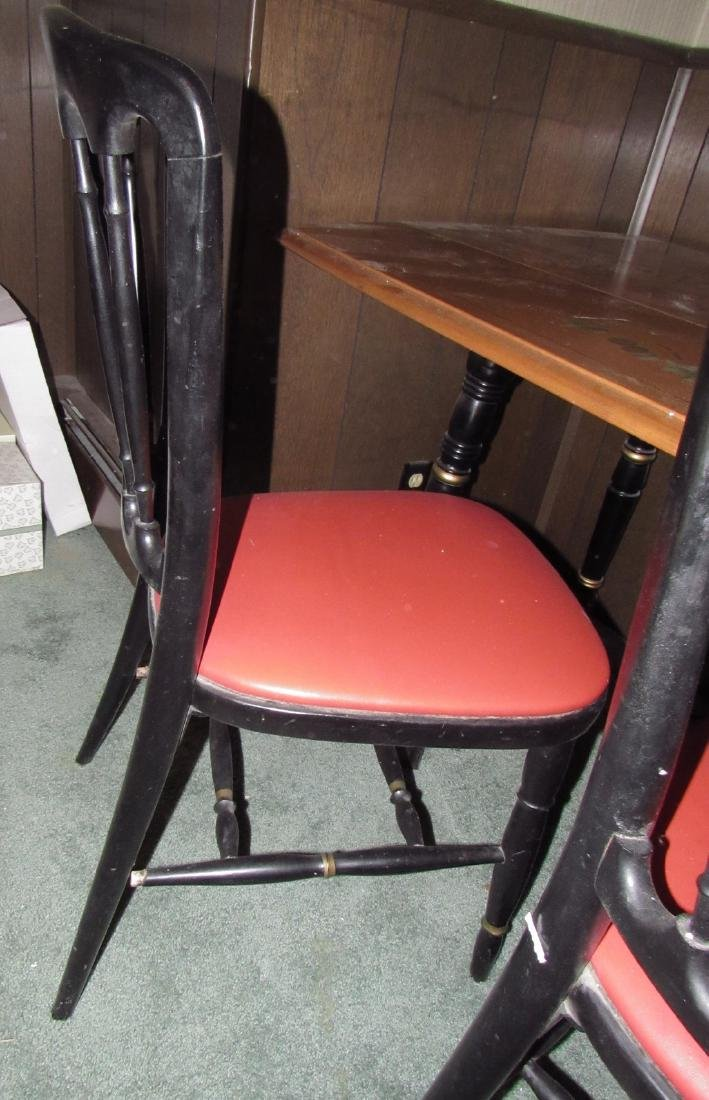 Drop Leave Dining Room Table & 2 Chairs - 3