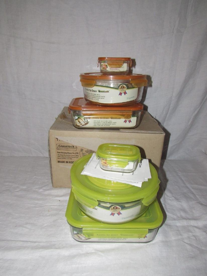 14 Glasslock Kinetic Go Green Containers