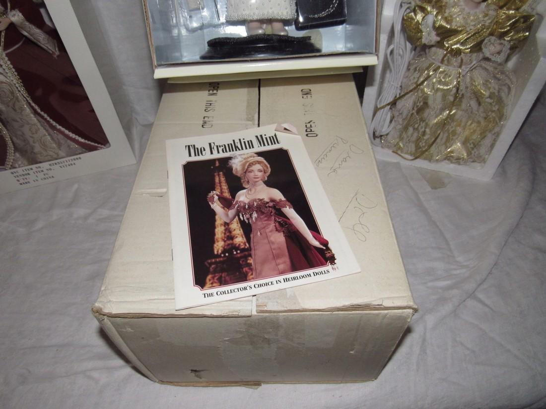 Franklin Mint Diana Princess of Wales Porcelain Doll - 3