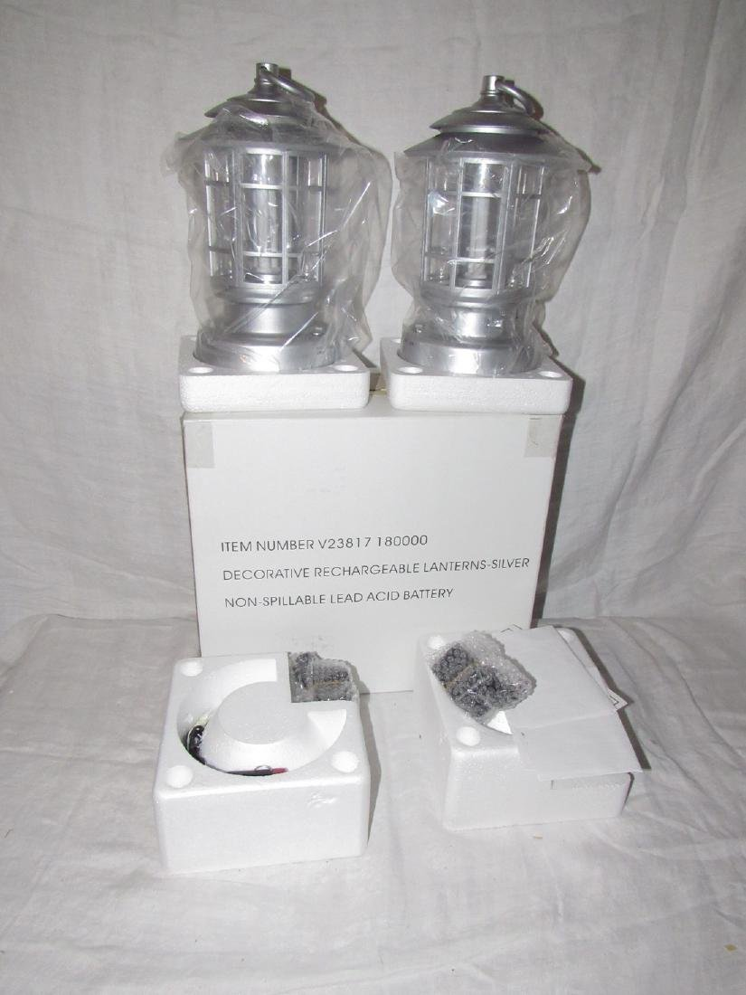 2 Rechargeable Lanterns