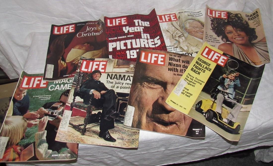 8 Life Magazines