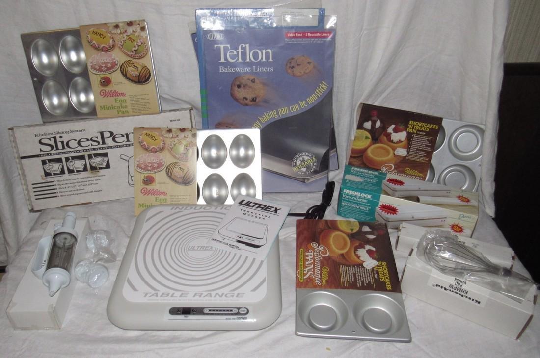 Induction Table Range Shortcake Pans Teflon Liners