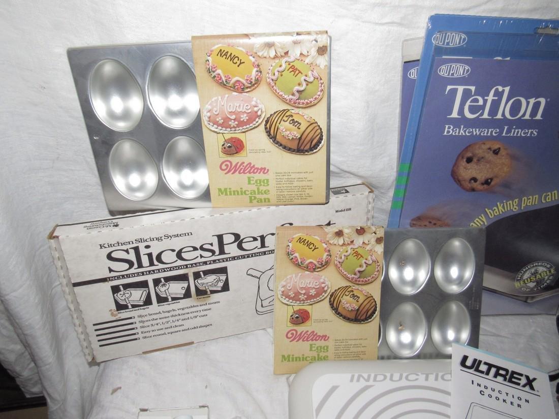 Induction Table Range Shortcake Pans Teflon Liners - 2