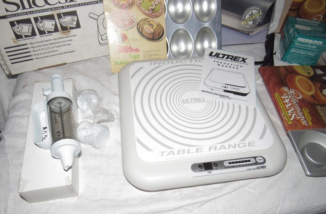 Induction Table Range Shortcake Pans Teflon Liners - 6