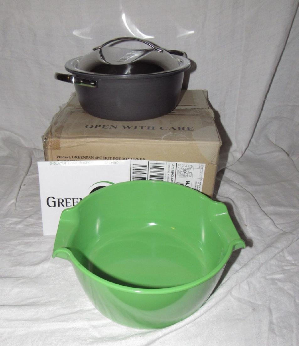 Greenpan 4 pc3 qt Hotpot Set