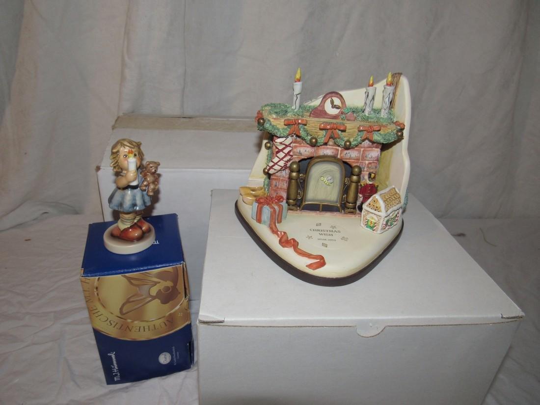 1999 Goebel Musikfest Christmas Wish Set