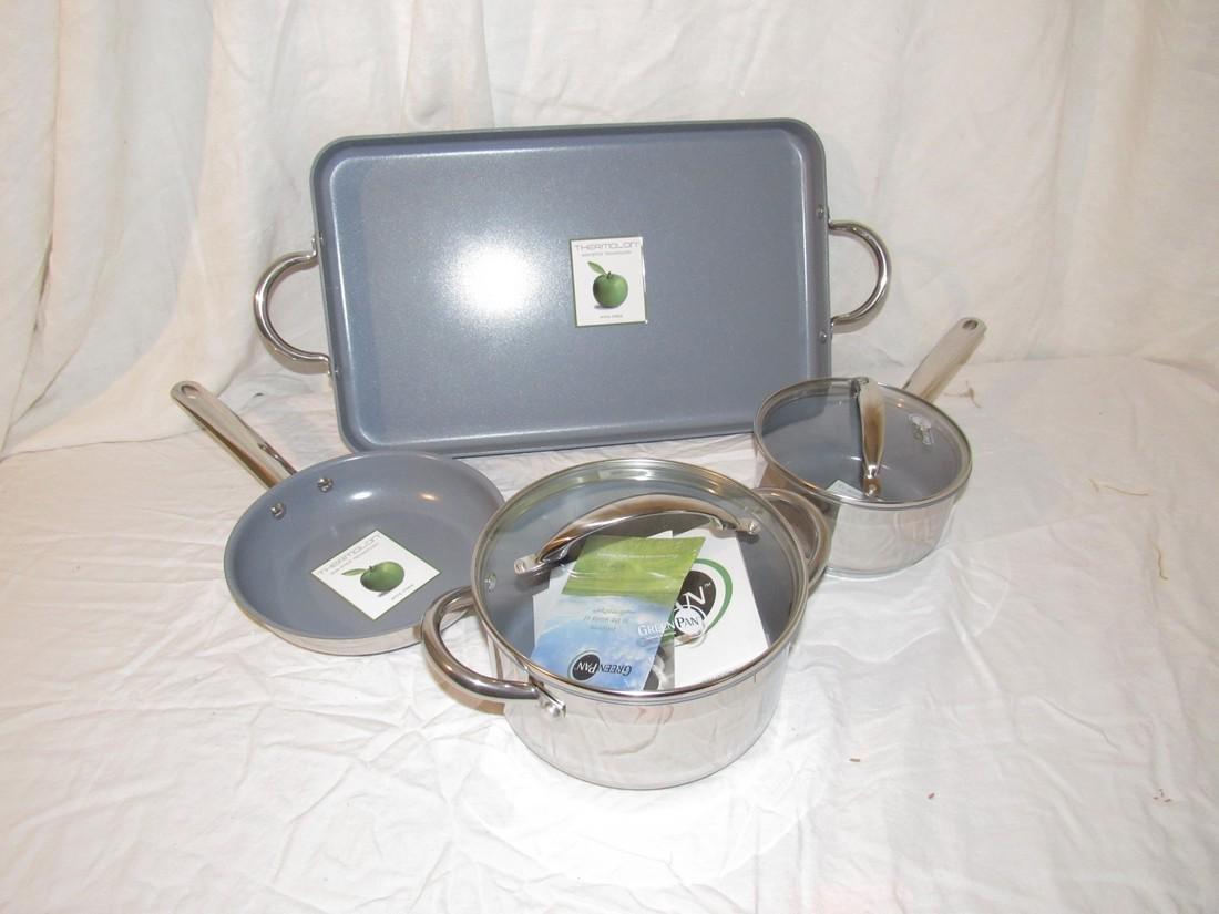 Green Pans Pot & Broiler Pan
