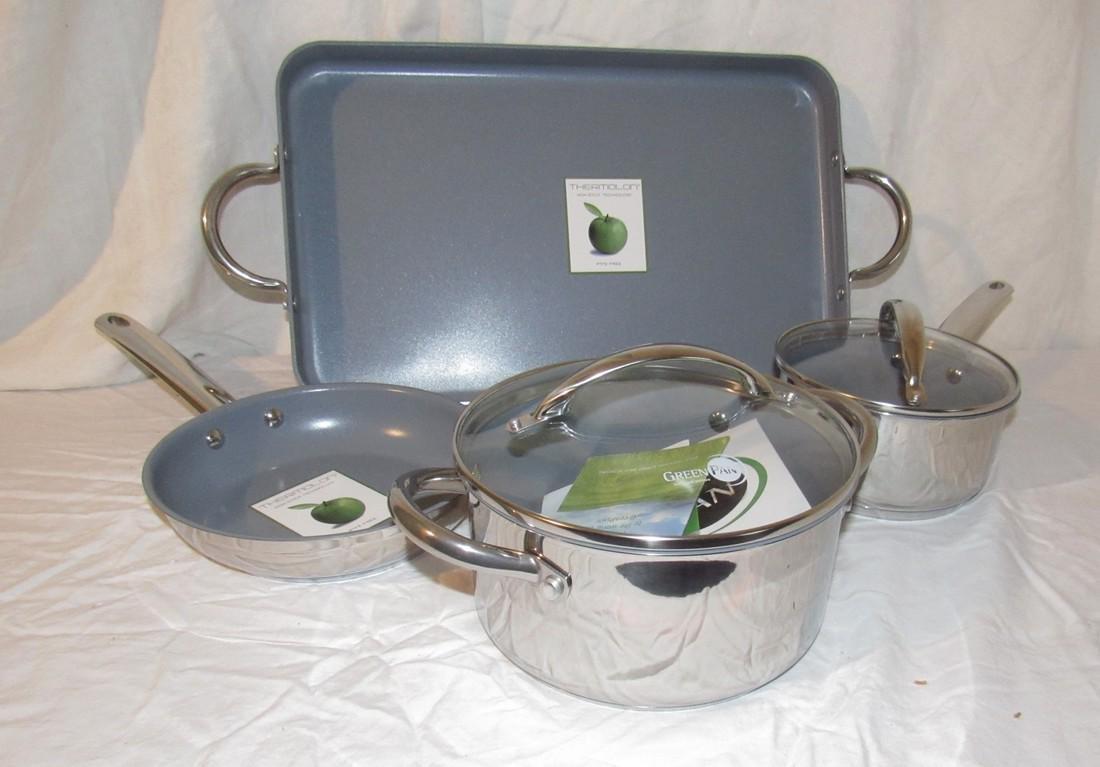 Green Pans Pot & Broiler Pan - 2