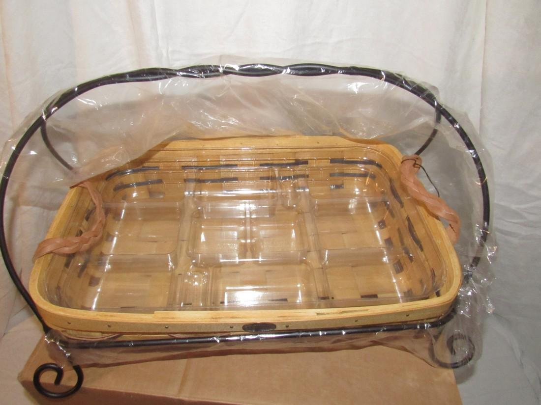 Peterboro Wrought Iron Collection Basket - 2
