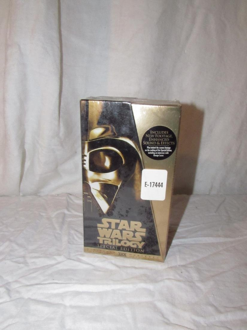 Star Wars Trilogy Special Edition VHS Tapes Sealed