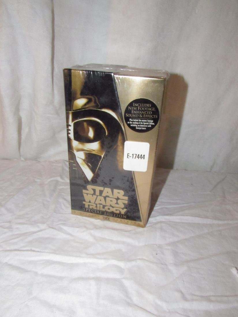 Star Wars Trilogy Special Edition VHS Tapes Sealed - 3