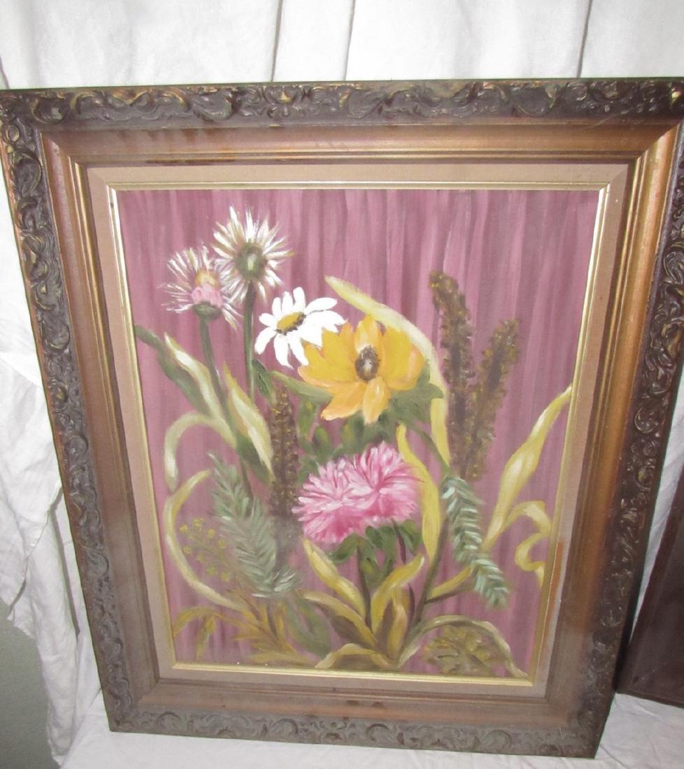 Oil On Board Paintings - 2
