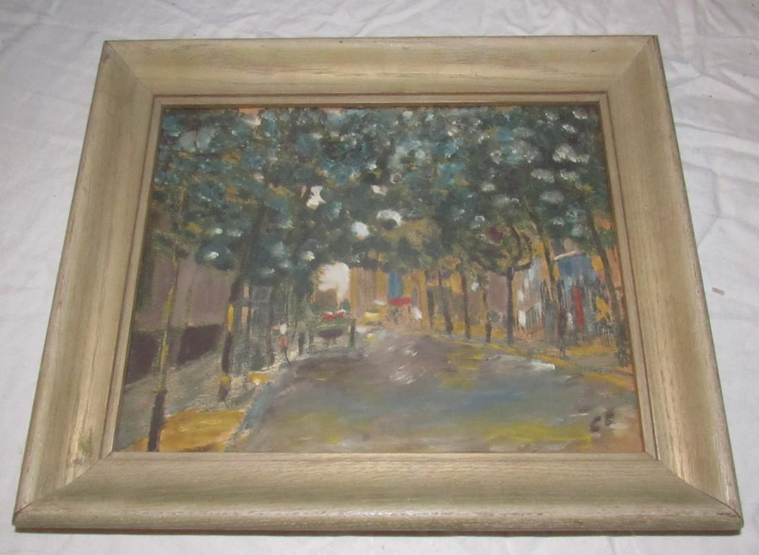 Oil On Board Paintings - 6