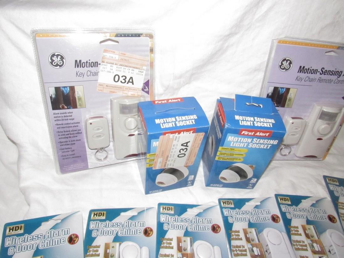 Motion Sensing Alarms Light Sockets Dessert Forks - 2