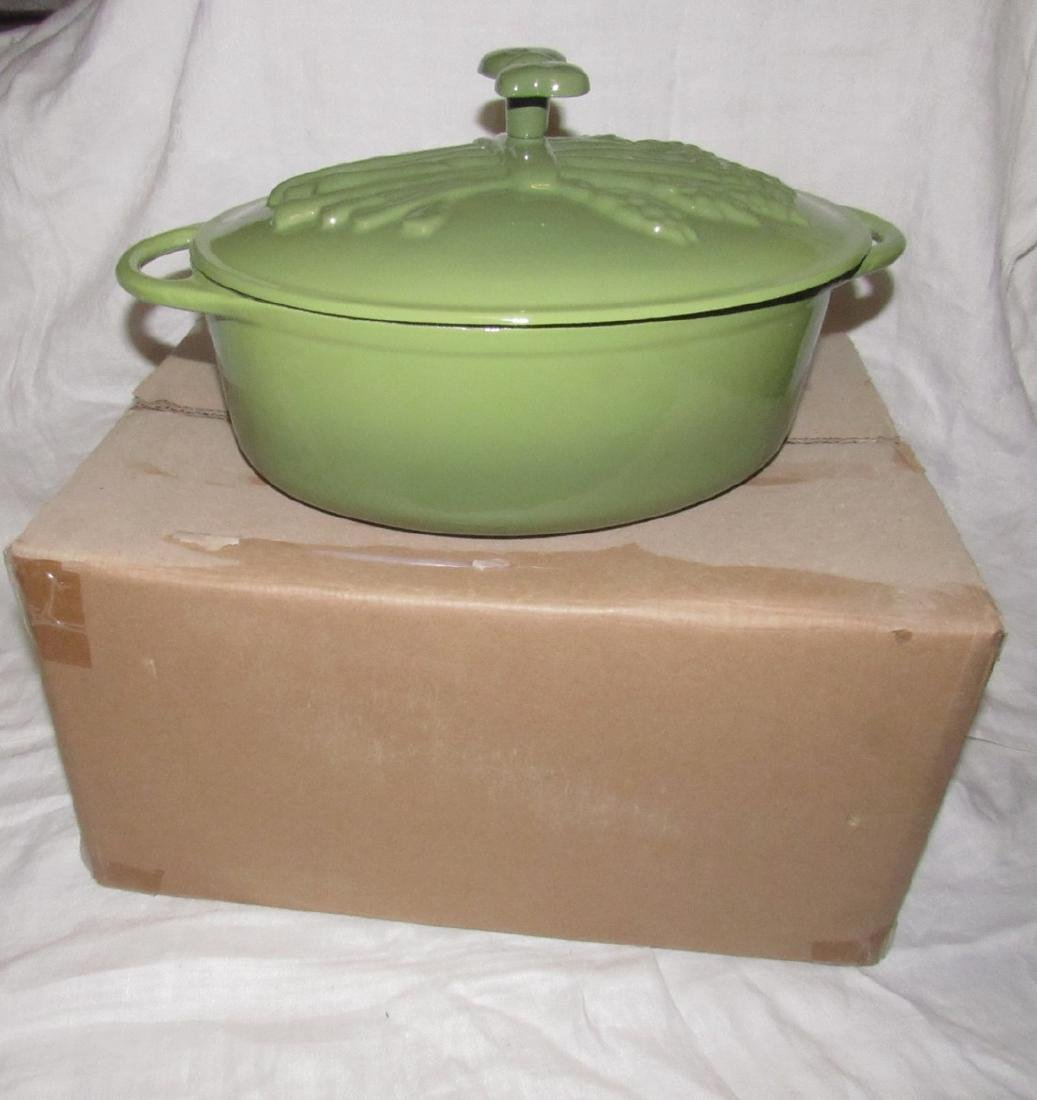 Technique Porcelain Enamel Cast Iron Roaster