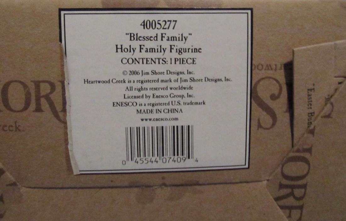Jim Shore Heartwood Creek Blessed Family - 2