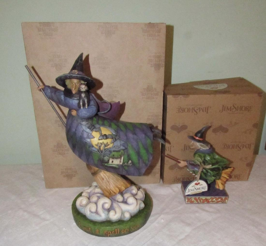 Jim Shore Heartwood Creek Enesco Witches