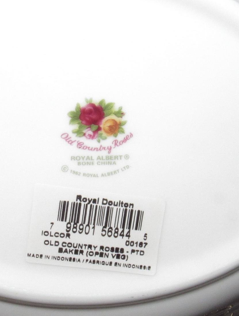 Royal Albert Old Country Roses Baker & Oval Dishes - 2