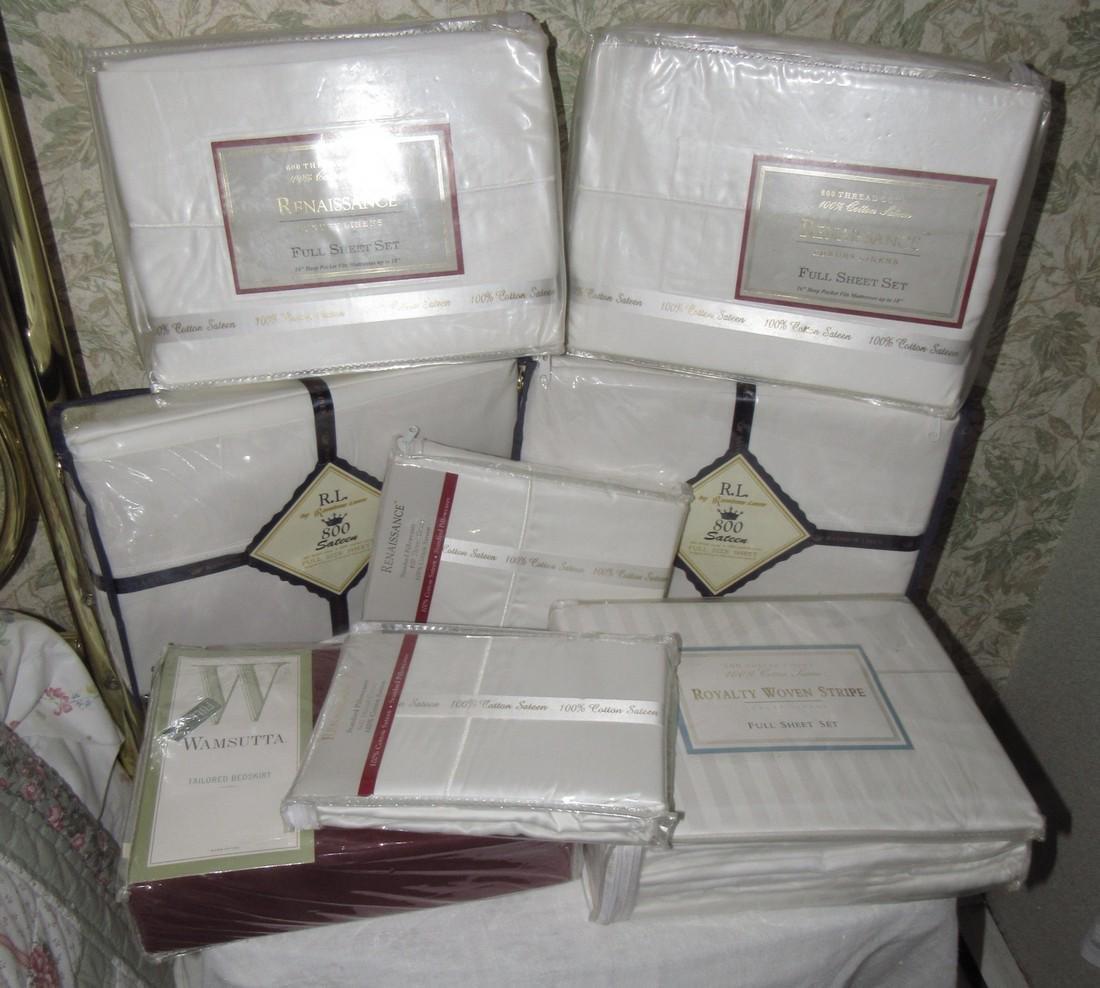 Full Sheet Sets Pillow Cases Bed Skirt Renaissance