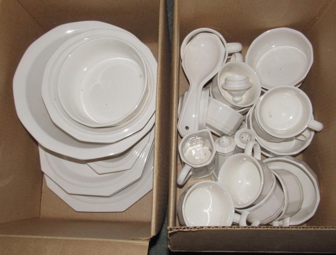 2 Boxes of Pfaltzgraff Dinnerware Dishes