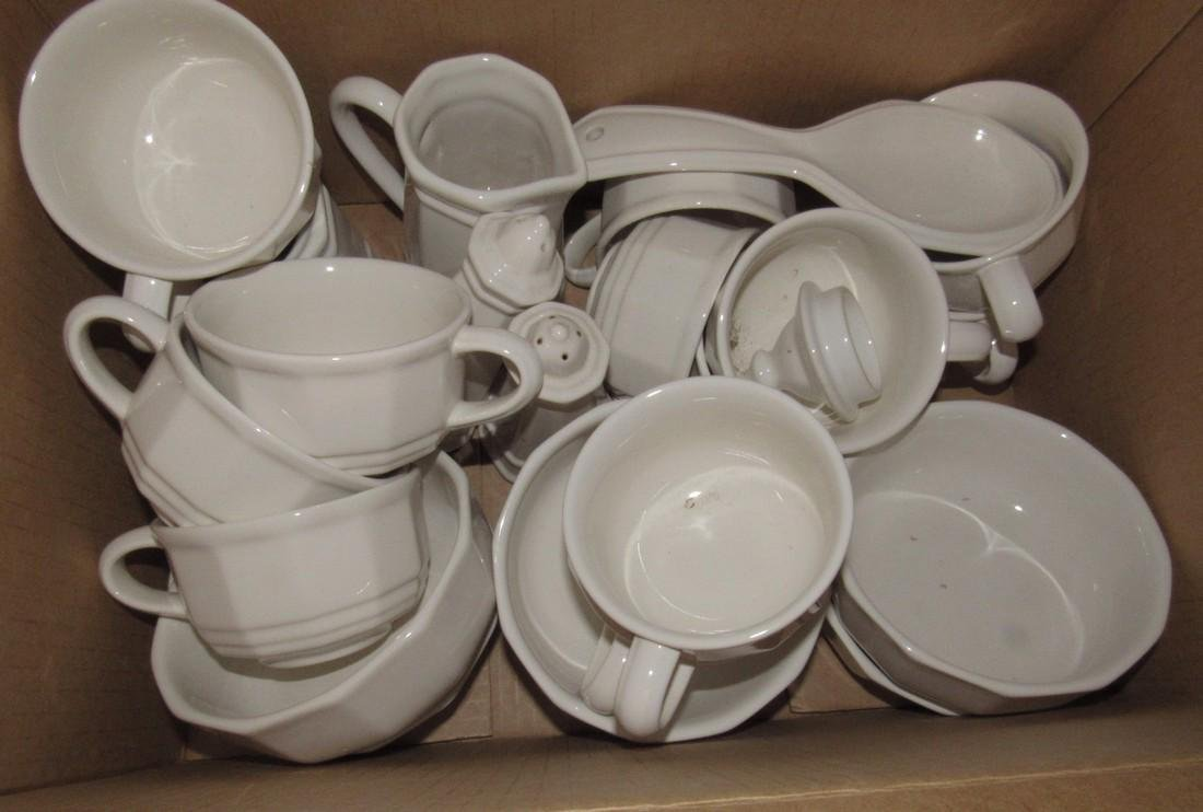2 Boxes of Pfaltzgraff Dinnerware Dishes - 2