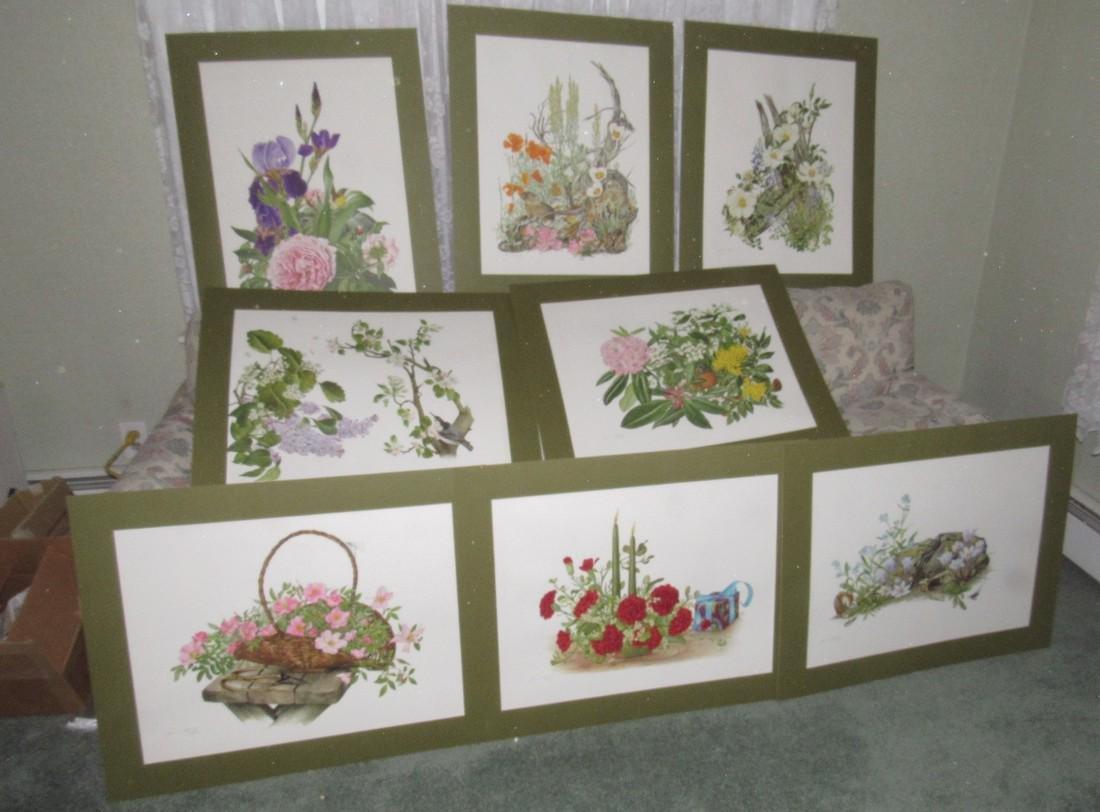 18 Franklin Mint Jean Holgate Signed Prints - 4