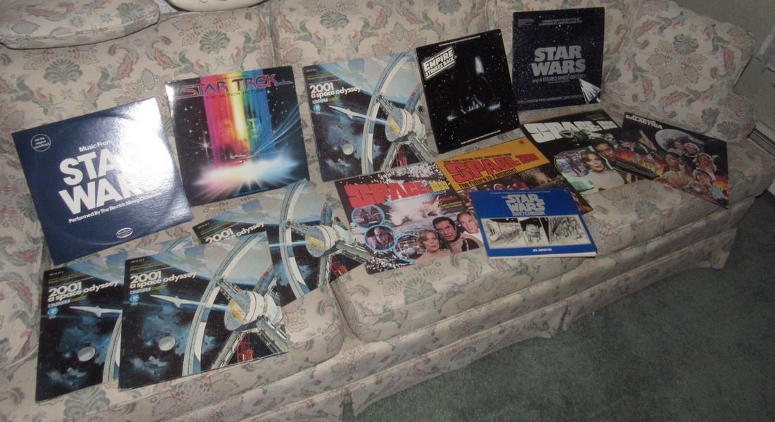 Star Wars & Star Trek Records - 2