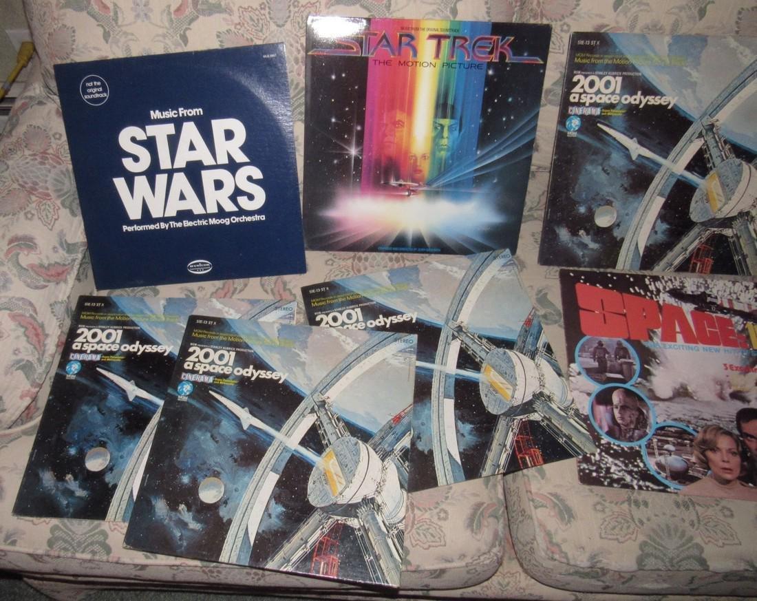 Star Wars & Star Trek Records - 3
