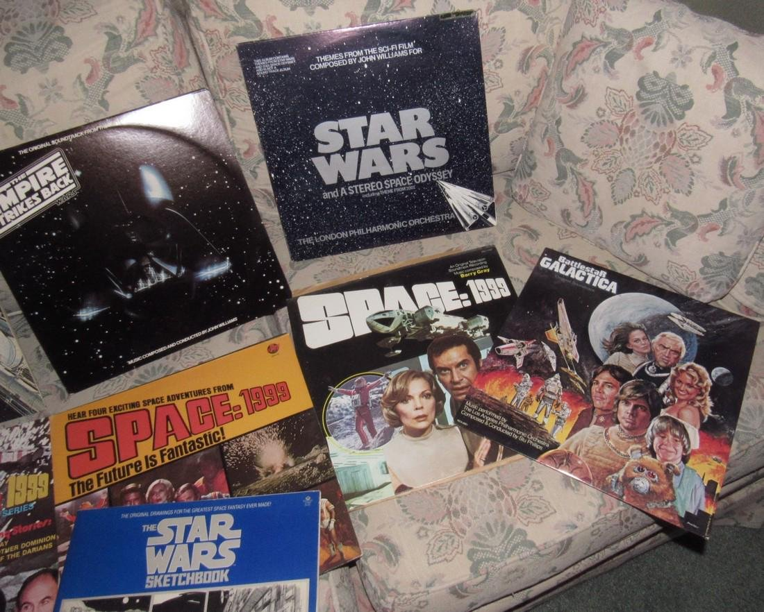 Star Wars & Star Trek Records - 5