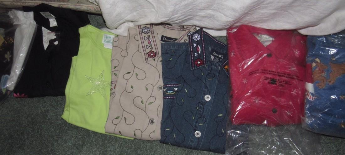 Large Lot of QVC Clothing Croft & Barrow Denim & Co - 3