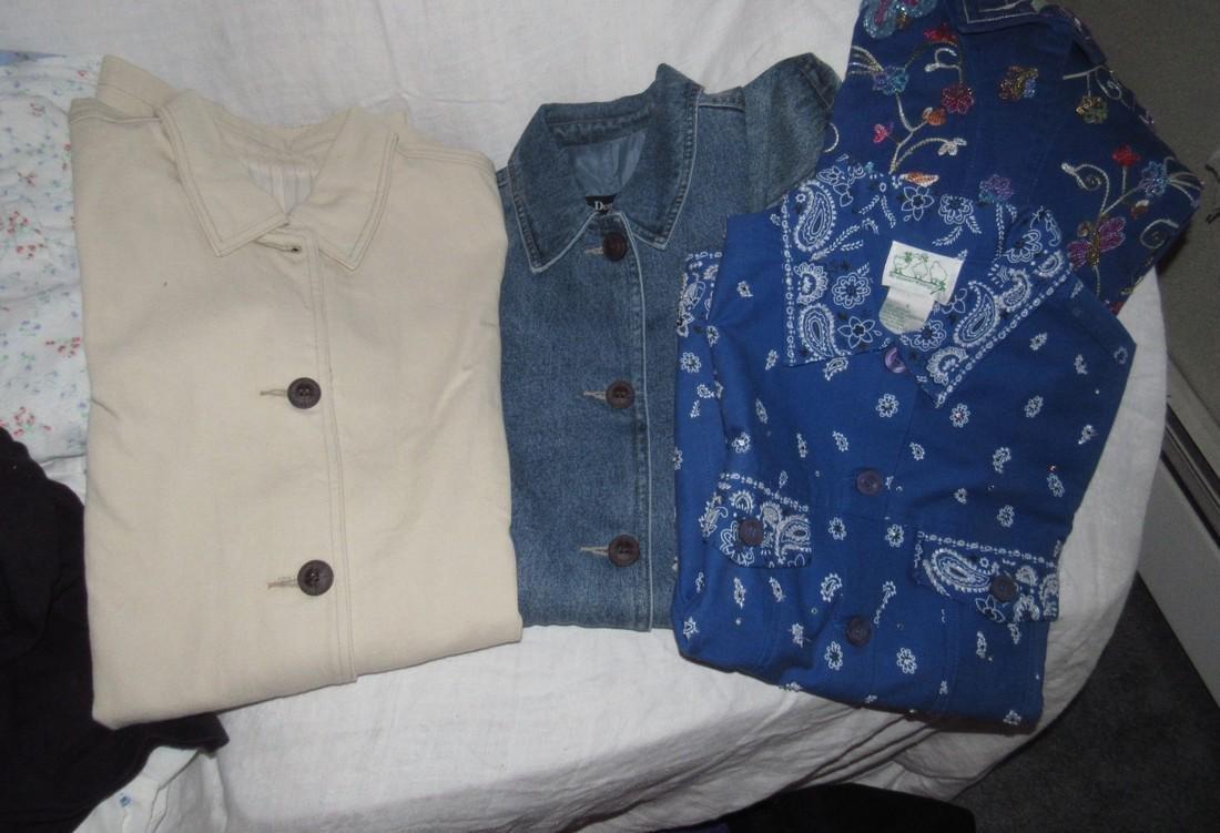 Large Lot of QVC Clothing Croft & Barrow Denim & Co - 4