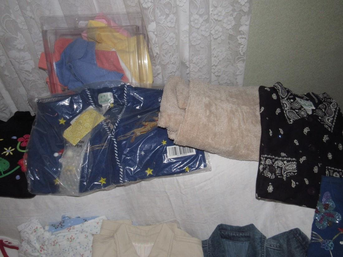 Large Lot of QVC Clothing Croft & Barrow Denim & Co - 6