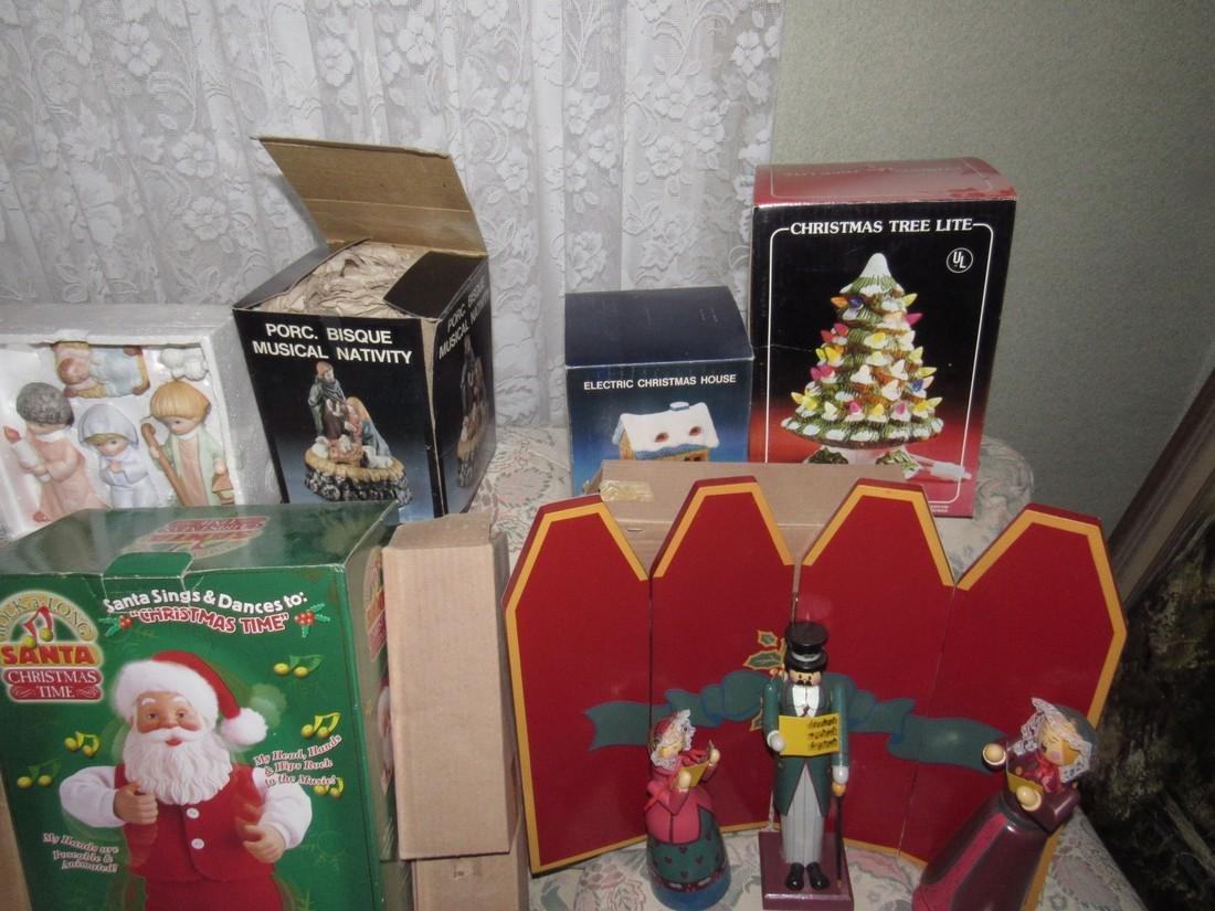 Large Lot of Christmas Trees Ornaments Keepsake - 2