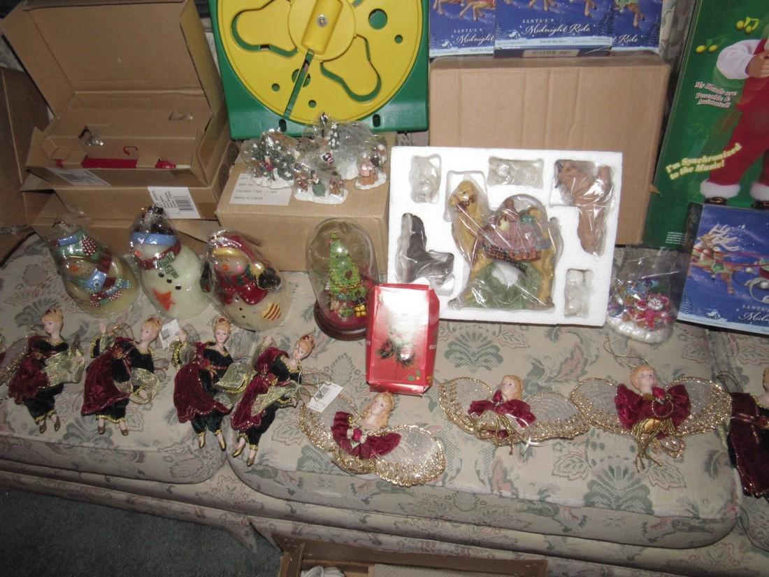 Large Lot of Christmas Trees Ornaments Keepsake - 4