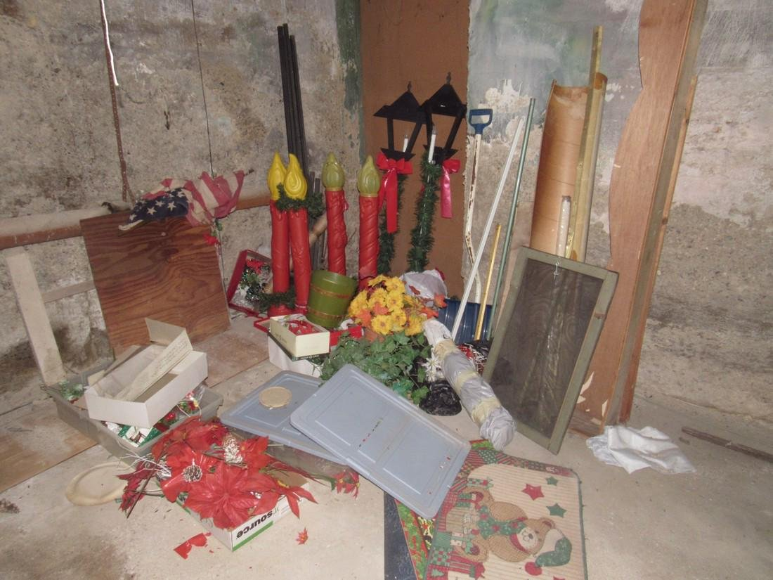 Contents of Basement - 6