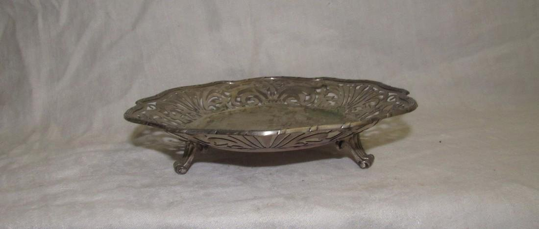 Footed 800 Silver Compote