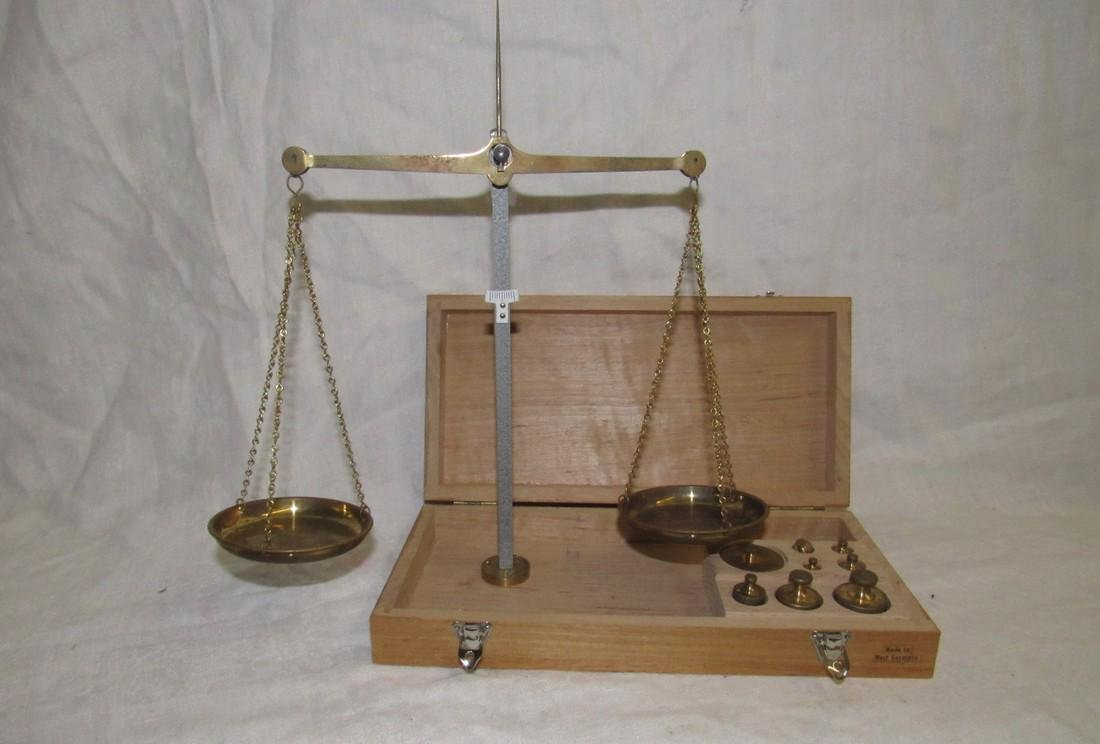 Gold Scale Made in Western Germany