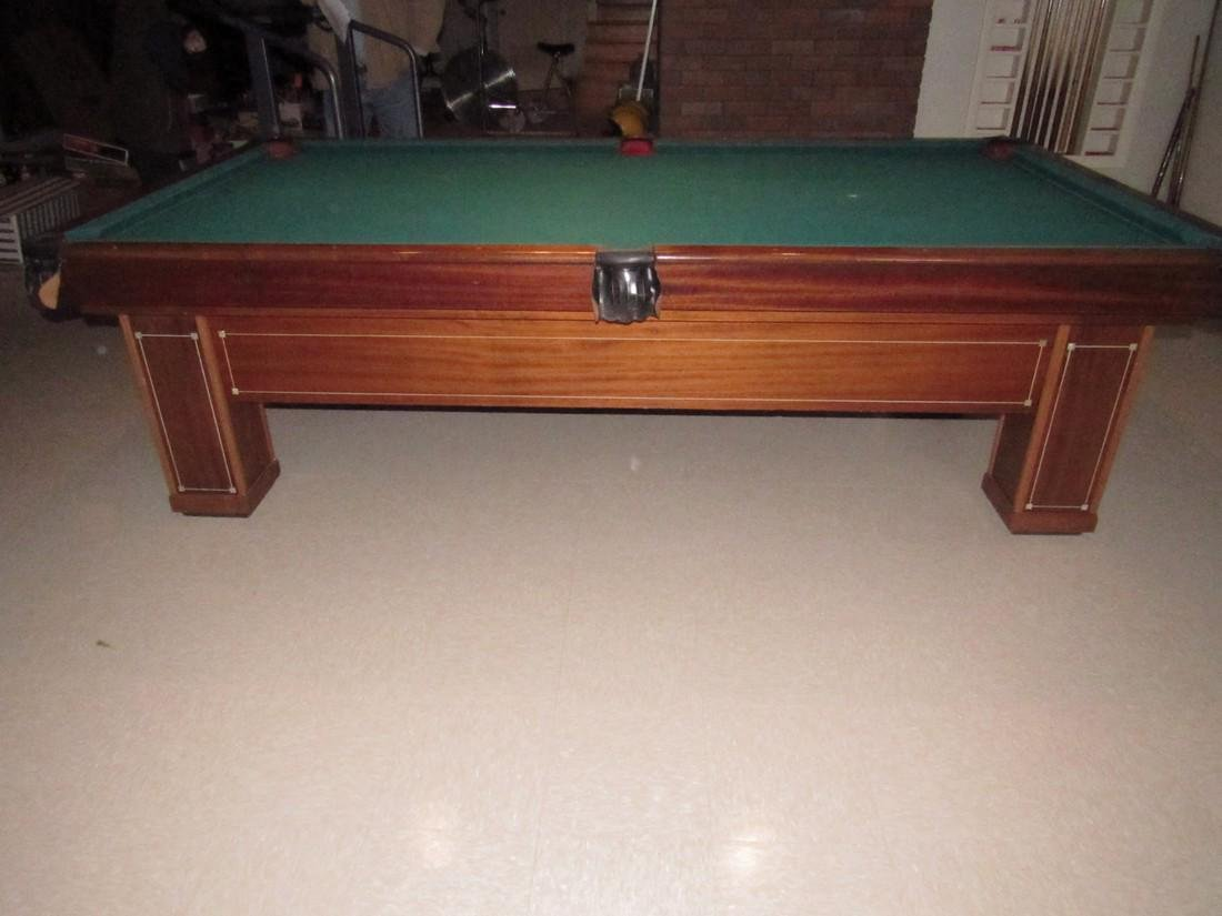 Brunswick Balke Collendar Madison Pool Table