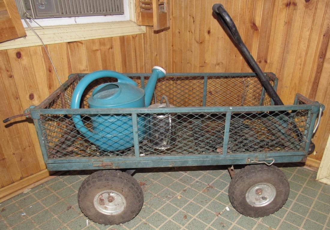 Metal Garden Wagon / Cart