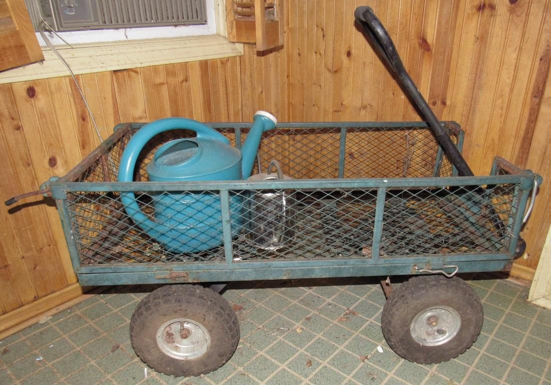 Metal Garden Wagon / Cart