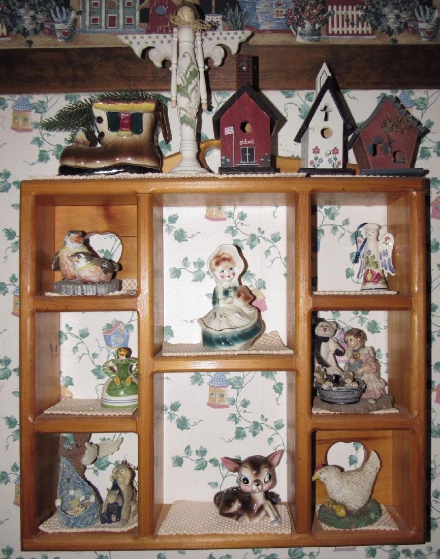Knick Knacks & Shelf