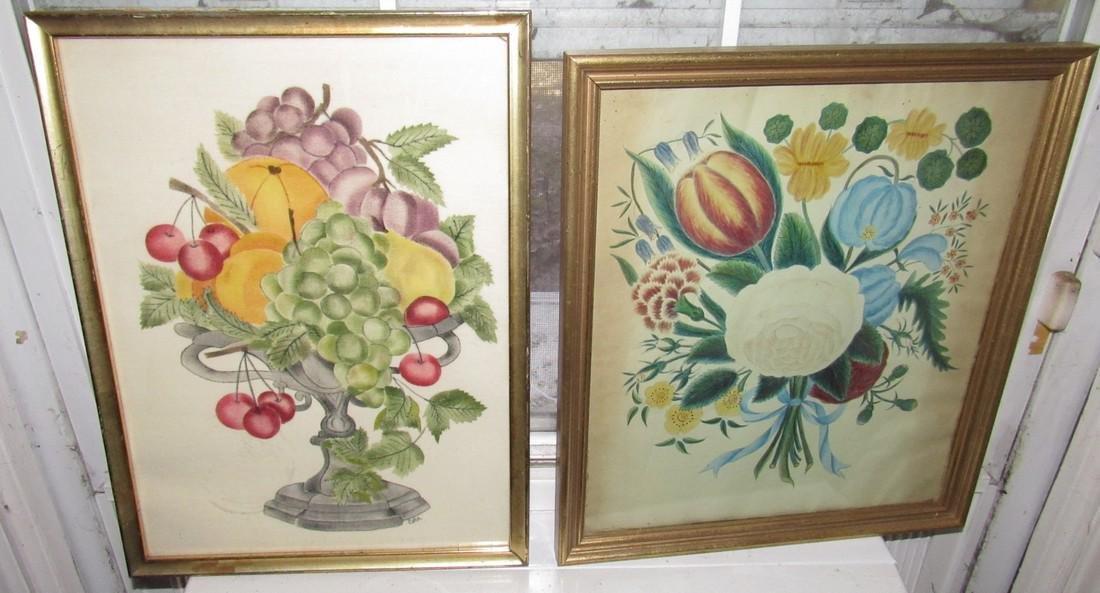 2 DAK Watercolors Paintings