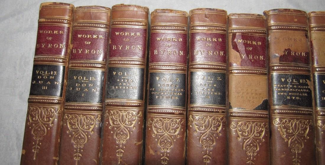 10 The Works of Lord Byron Books 1832 - 2