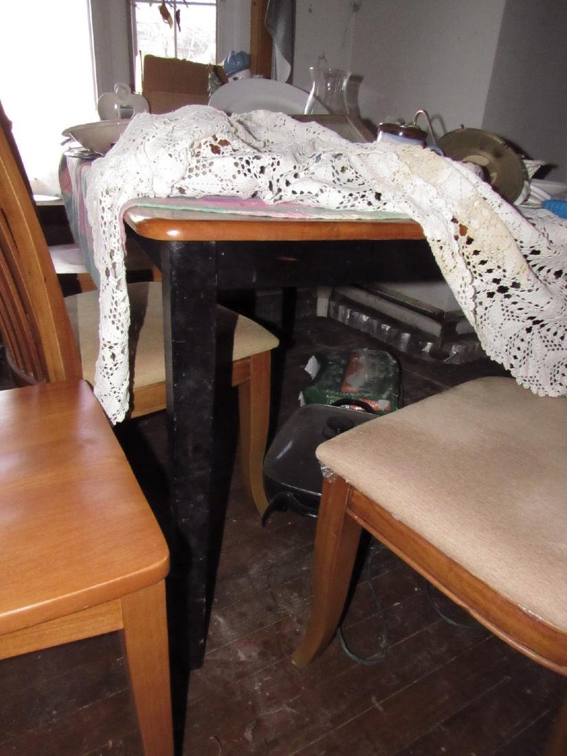 Table & 4 Chairs - 2