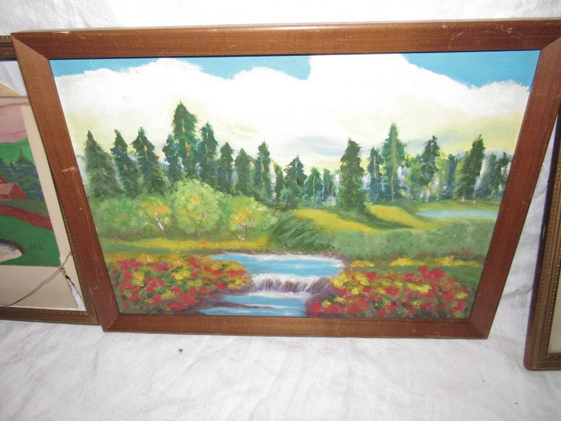 3 Oil Paintings - 2