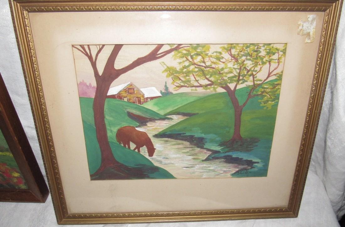 3 Oil Paintings - 3