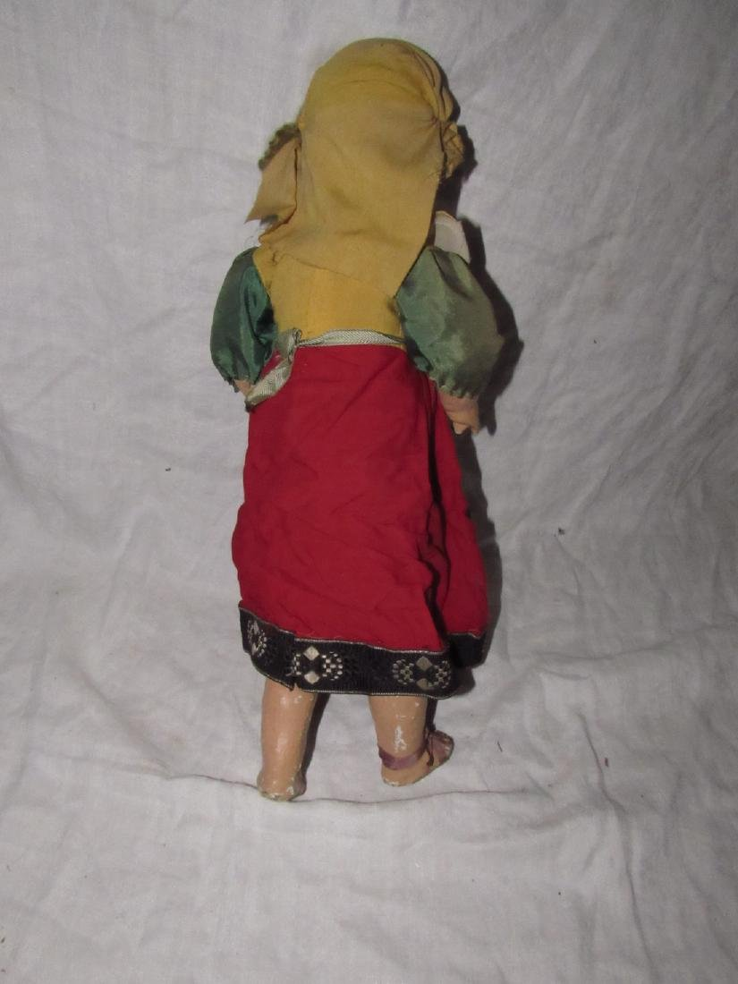 """Early 19"""" Composition Doll - 6"""