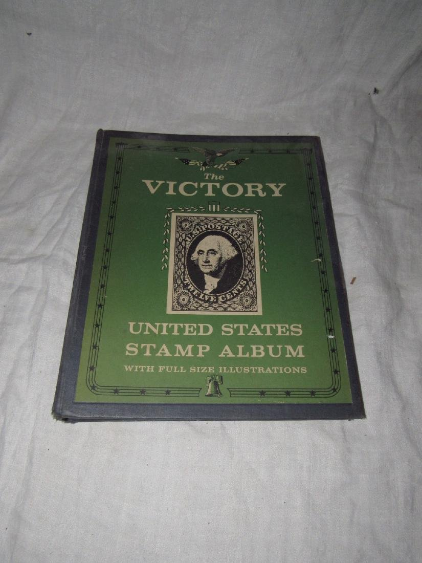 Victory United States Stamp Album