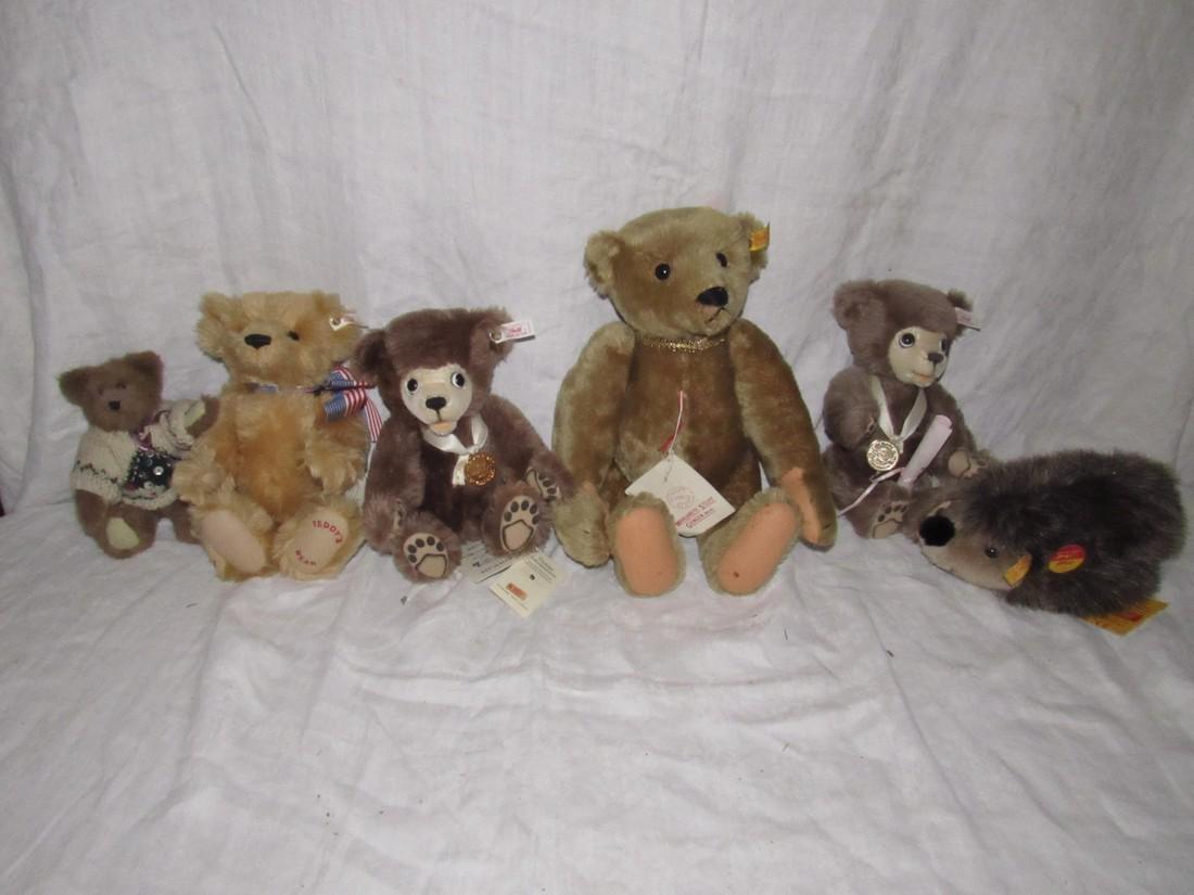 Joggi Porcupine Berryman Steiff Teddy Bears