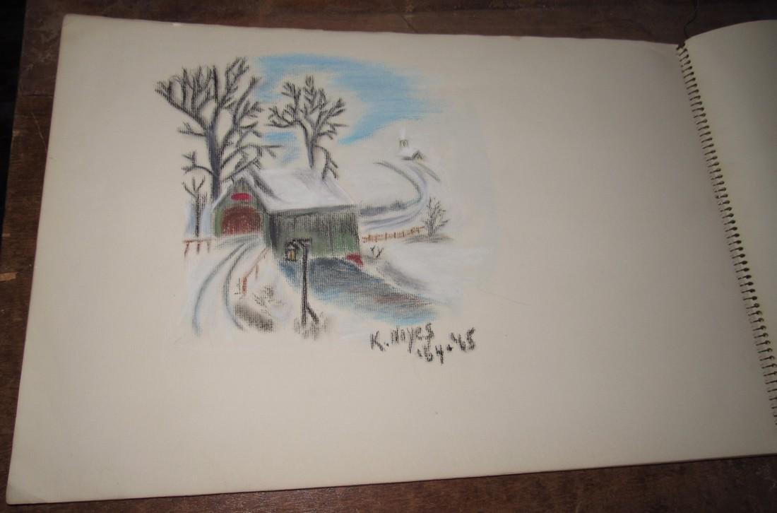 Pastel Drawings - 2